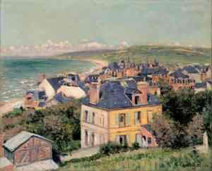 Gustave Caillebott - Villers-sur-Mer (1880)