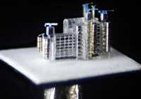 Willard Wigan - Replica of Lloyd's Building