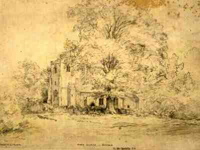 John Constable - Hyam Church, Suffolk
