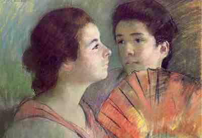 Mary Cassatt - Two Sisters (1896)