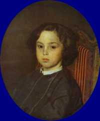 Ilya Repin - Portrait of a Boy (1867)