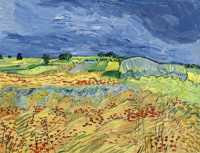 Vincent van Gogh - Wheat Fields (1890) © Sotheby's Images