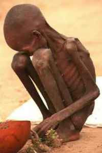 Starving African Child in Sudan (photographer unknown)