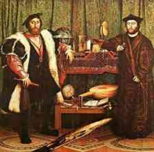 Hans Holbein - The Ambassadors (1533)