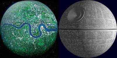 I.C. - Planet London & Death Star (2008)