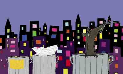 Illustration from That Pesky Rat (2002) © Lauren Child