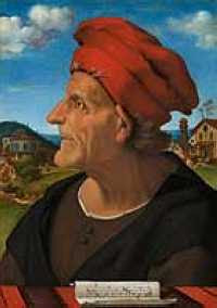Piero di Cosimo - Francesco Giamberti da Sangallo, musician (ca 1485)