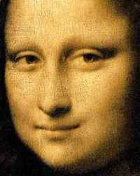 Leonardo de Vinci - The Mona Lisa (close-up)
