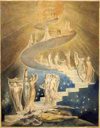 William Blake - Jacob's Ladder (1799-1806)