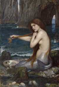 John William Waterhouse - A Mermaid (1900)