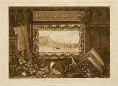 Frontispiece from JMW Turner's Liber Studiorum (1806-19)