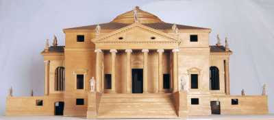 Model of the Villa Capra, known as the Villa Rotonda (1970)
