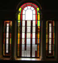 Stained-glass Windows, Valentine Mansion, Ilford