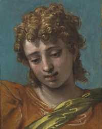 Paolo Veronese - Head of Saint Michael (c.1565)