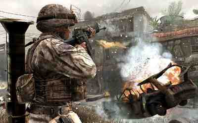 Screenshot from Call of Duty 4 Modern Warfare