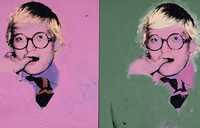 David Hockney - Andy Warhol (1974)