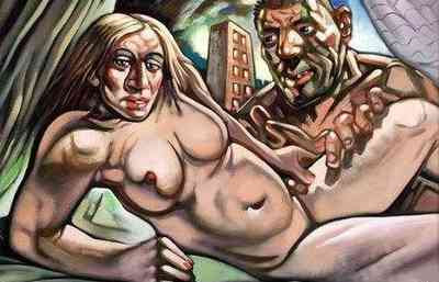 Peter Howson - Madonna & Guy (2005)