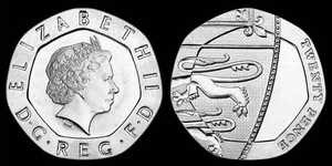 Matthew Dent for Royal Mint - All Change 20p coins (2008)