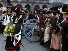 Los habitantes de La Coruña armados para resistir al invasor