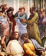 Sócrates en la Escuela de Atenas