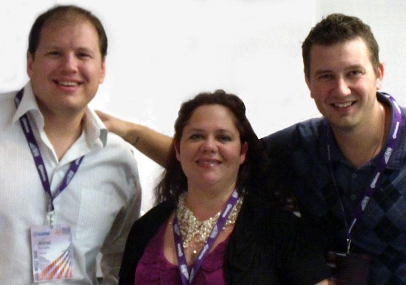 Adriel Hampton, Lyne Robichaud, Jordan Hodges