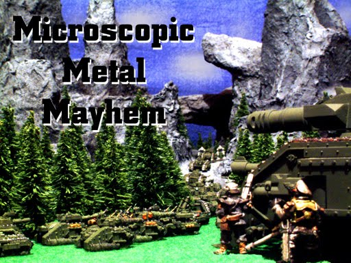 Microscopic Metal Mayhem