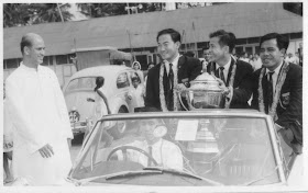 Badminton Greats In 1967