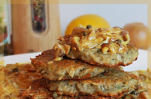 Драники с грибами рецепт с фото пошагово