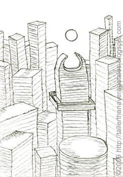skyline sketch 2