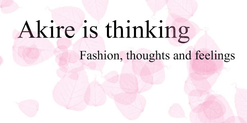Fashion, toughts and feelings