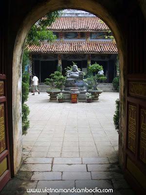 Pagoda at Marble Mtn - Danang, Vietnam