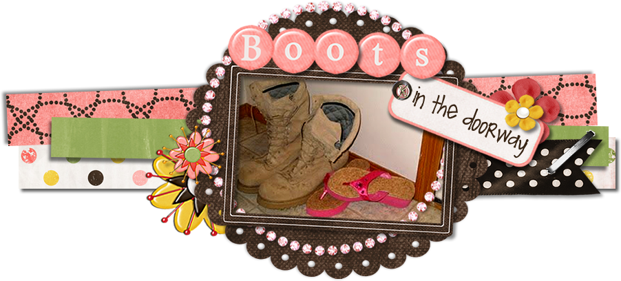 .Boots in the Doorway.