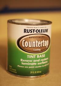 Rustoleum Countertop Paint Fumes : My Pretties: How to paint countertops