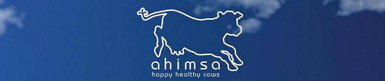 Ahimsa milk-Happy, Healthy Cows
