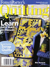 Love of Quilting July/Aug 2010