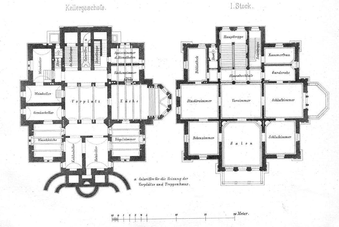 Depot Für Zeichnungen Villa In Heidelberg