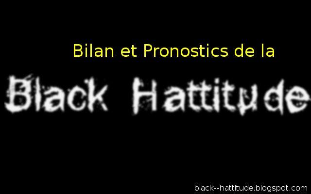 Assessment and prognosis of black man hattitude