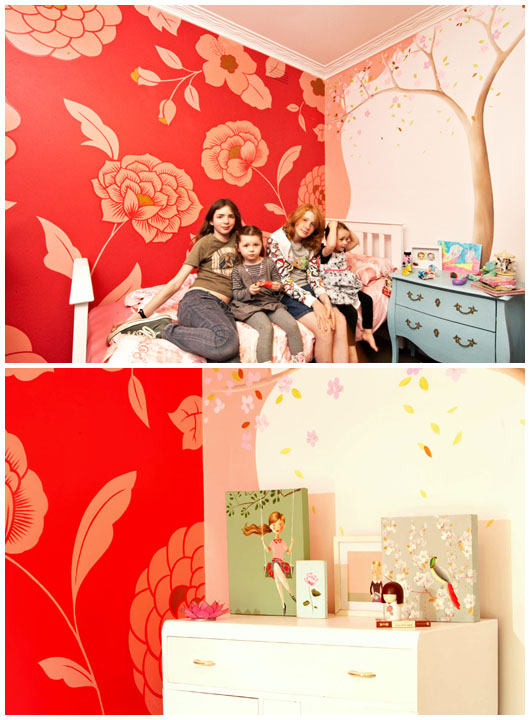 The Design Files Pacquita Maher Wall Murals