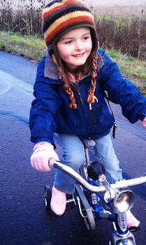 Finn on her Bike