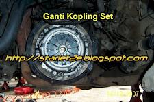 Ganti Kopling Set