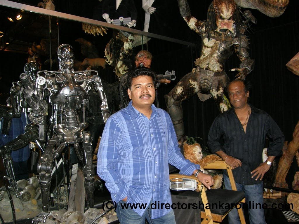 [rajinikanth+shankar+At+Stanwisnston+Studios.jpg]