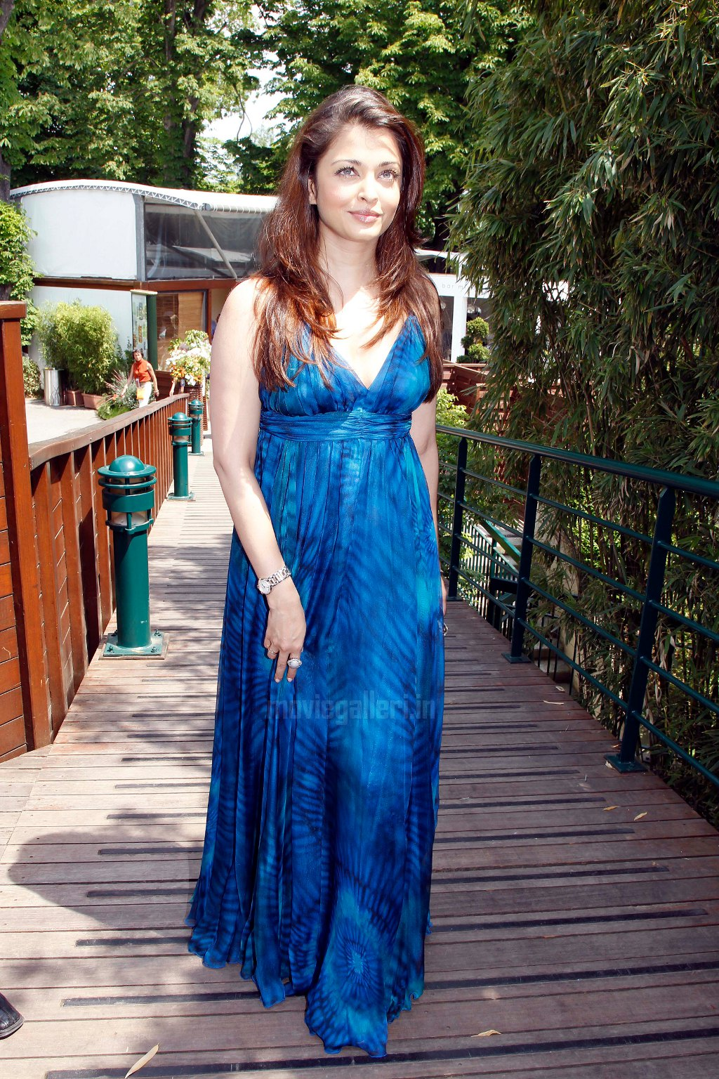 Aishwarya Rai @ 2010 French Open in Paris Stills