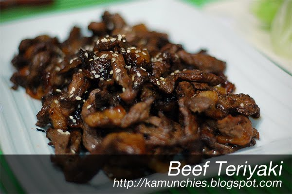 Just sharing (the munchies)!: Beef Teriyaki
