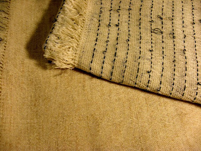 New handwoven fabrics