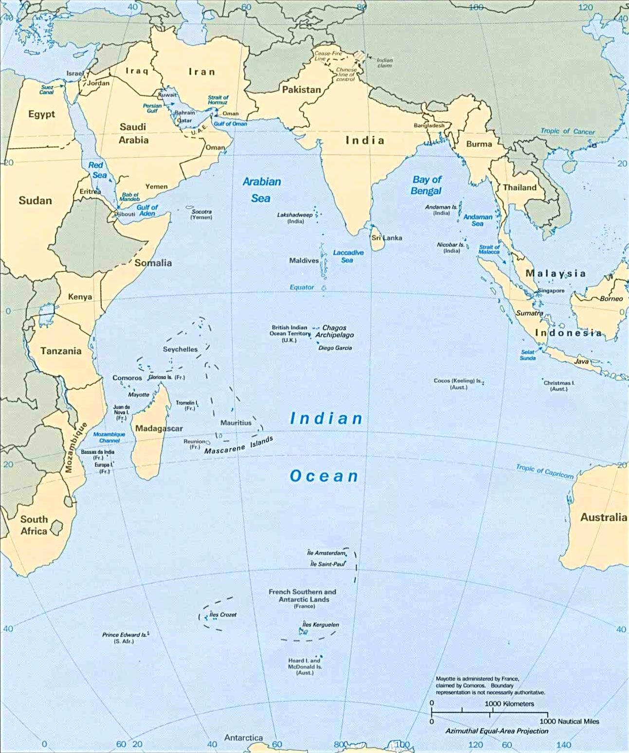 Islam en Mar del Plata Ocano indico aqu se juega la gran