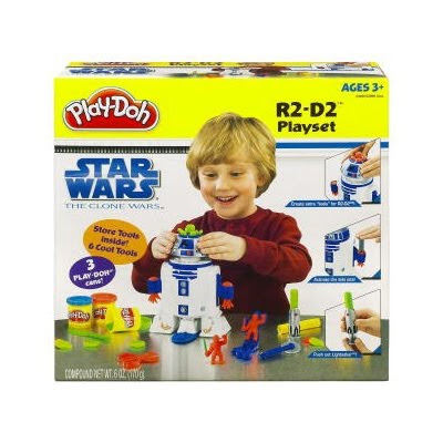 PLAY-DOH Star Wars The Clone Wars R2-D2 Playset Review