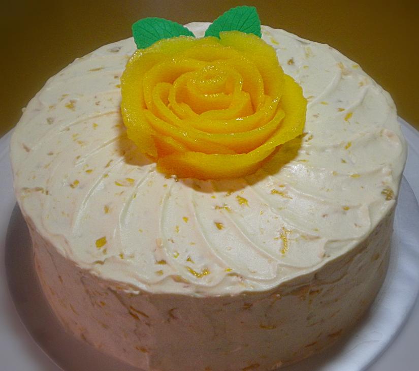 Mango Cake Recipe Like Red Ribbon