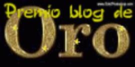 María ha compartido su premio conmigo. Enlaza en la imagen para visitar su mágico blog.