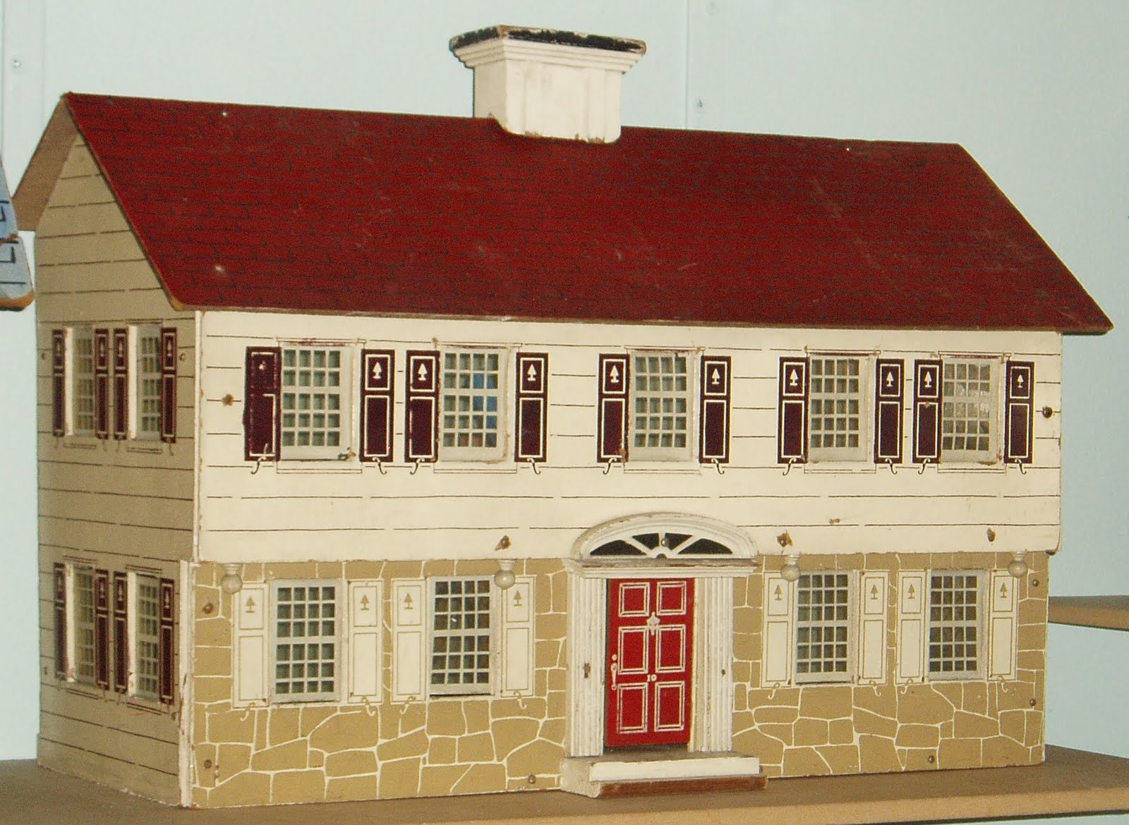 Boston dollhouse dollshouse vintage dollhouses antique for Classic house blogspot