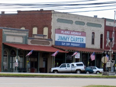 Plains Georgia hometown of Jimmy Carter